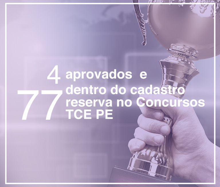 aprovados no concurso TCE PE 2017